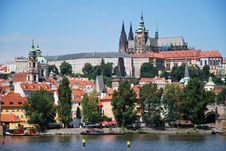 Free The Castle Of Prague Royalty Free Stock Photo - 20673425