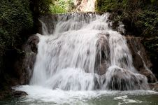 Free Waterfall At The Monasterio De Piedra Stock Photo - 20673630