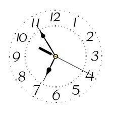 Free Clock Face Stock Image - 20674241