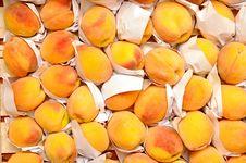 Free Peaches On Market Royalty Free Stock Photo - 20674415