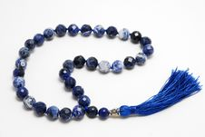Free Blue Rosary Beads Royalty Free Stock Images - 20674619