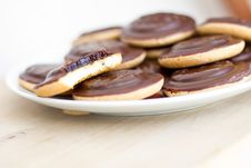 Free Pile Of Cookies Royalty Free Stock Photos - 20674858