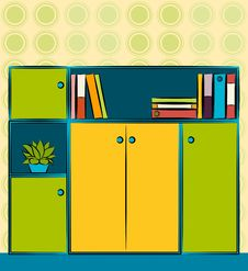 Free Business Closet In Office. Stock Image - 20675101