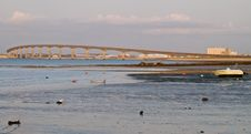 Free Bridge At Low Tide Stock Images - 20675224
