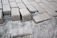 Free Paving Sidewalk Tile Stock Image - 20675621