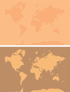 Free World Map Background Royalty Free Stock Photos - 20675688