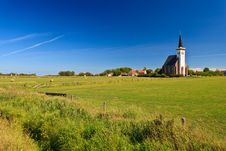 Free Church With Grassland On A Sunny Day Stock Photos - 20676663