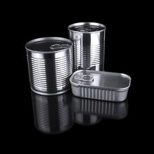 Free Tin Cans Royalty Free Stock Photos - 20677338