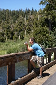 Free Photographer Or Tourist Stock Photography - 20677342
