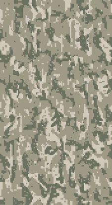 Free Bitmap Digital Camouflage Royalty Free Stock Photo - 20677395