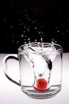 Free Glass Of Water Royalty Free Stock Image - 20677416