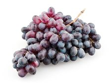 Free Branch Of Black Grapes Royalty Free Stock Photos - 20678258