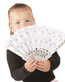 Free Bright-Eyed Fan Girl Stock Photo - 20678270