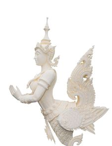 Free Native Thai Style Angel Statue Royalty Free Stock Photography - 20678687