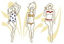 Free Women On The Beach Stock Photo - 20679220
