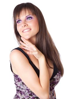 Free A Beautiful Smiling Woman Royalty Free Stock Photos - 20680608
