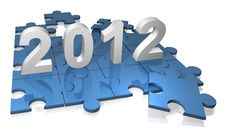 Free 2012 Puzzle Stock Photography - 20680922