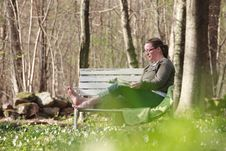 Free Relaxing In The Garden Stock Photos - 20681303