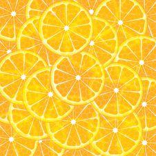 Free Orange Slices Royalty Free Stock Photography - 20682237