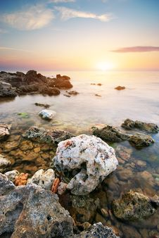 Beautiful Seascape. Stock Photos