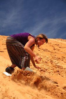Free Sandboarding Stock Image - 20683181