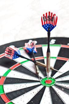 Free Darts On Board Stock Photos - 20683193
