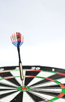 Free Dart On Board Stock Image - 20683371