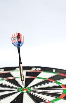 Dart On Board Stock Image