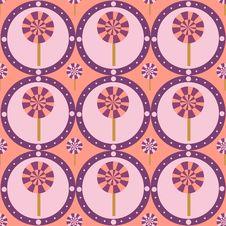 Free Cute Lollipops Pattern Stock Image - 20683551