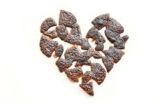 Free Burnt Broken Heart Stock Photos - 20684023