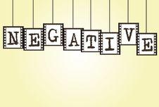 Free Negative Photo Labels Stock Photo - 20684730
