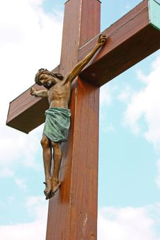 Free Jesus Christ Crucified Royalty Free Stock Photography - 20686377
