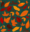 Free A Seamless Leaf Pattern. Royalty Free Stock Photography - 20690047