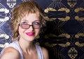 Free Beautiful Woman Wearing Glasses Stock Image - 20691631
