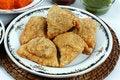 Free Samosas With Sauce Royalty Free Stock Photo - 20693305