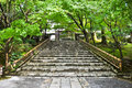 Free Stairs At Ryoanji Temple At Kyoto, Japan Royalty Free Stock Image - 20694026