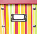 Free Colorful Paper Box With Empty Tag Royalty Free Stock Image - 20697066