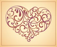 Free Heart Is Decorated Design Elements Stock Photo - 20690250
