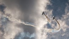 Free Airshow Skies Stock Photography - 20691972