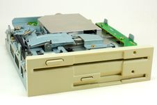 Free Dual Floppy Drive Royalty Free Stock Images - 20693289