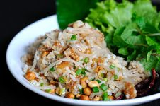 Free Fermented Pork Fried Rice Royalty Free Stock Photo - 20693515
