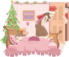Free Mama-Santa Royalty Free Stock Image - 20693736
