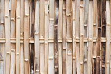 Free Bamboo Wall Stock Image - 20693791