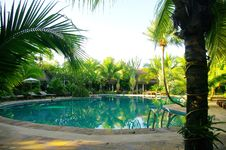 Free Pool Of Ressort  In Thailand Royalty Free Stock Image - 20693956