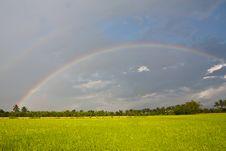 Free Rain Bow Stock Photography - 20694042
