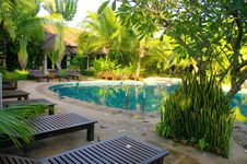 Free Pool Of Ressort  In Thailand Stock Photos - 20694043