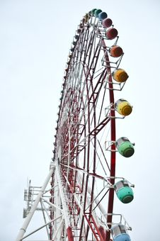 Free Colorfull Ferris Wheel At Odaiba Stock Photo - 20694210