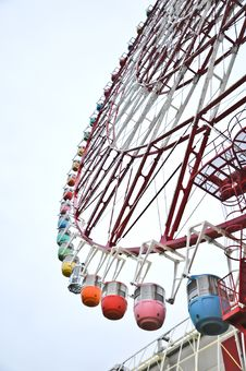 Free Colorfull Ferris Wheel At Odaiba Stock Photo - 20694230