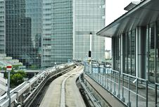 Free Railway At Shimbashi Station Stock Photos - 20694233