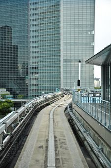 Free Railway At Shimbashi Station Stock Photography - 20694242